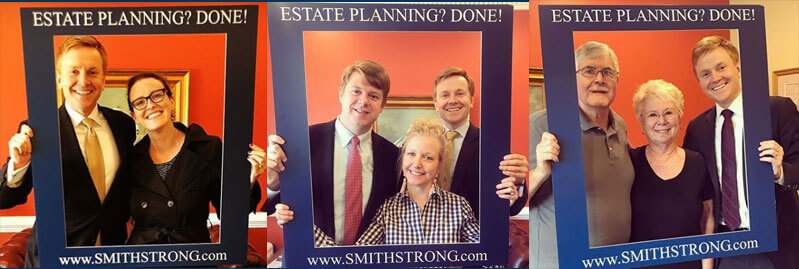 Happy Clients Taking Selfies with Van Smith